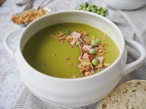 Аппетитный гороховый суп. \ Фото: letstalkmommy.com.