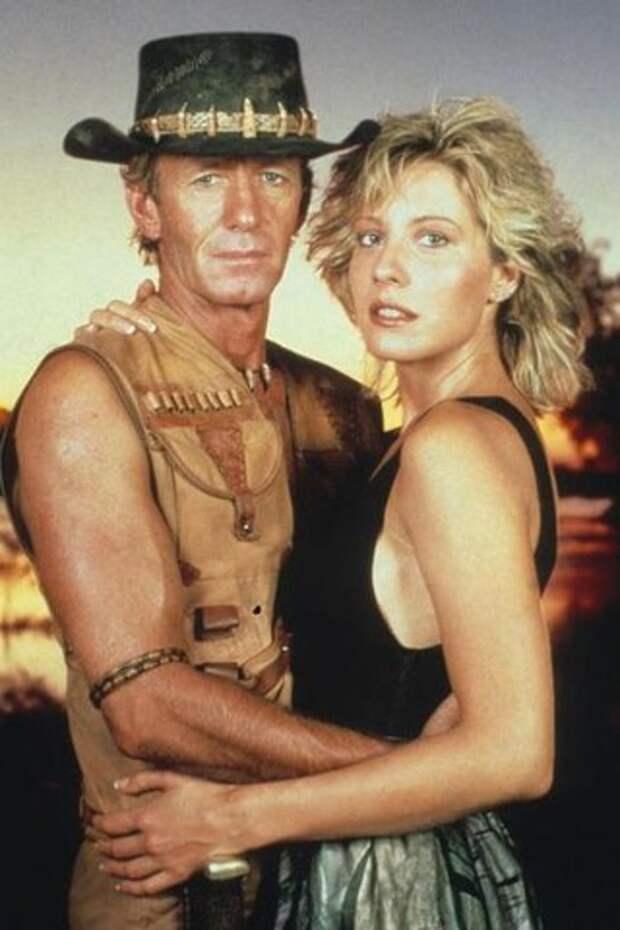 Как изменилась шикарная блондинка из фильма «Крокодил Данди»