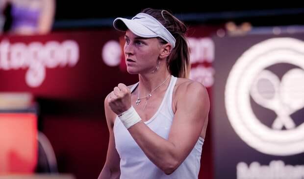 Россиянка Самсонова победила на турнире в Берлине