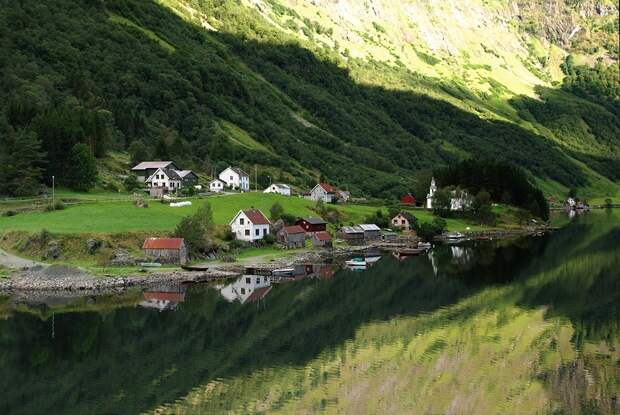 fjords03 Самые красивые фьорды Норвегии