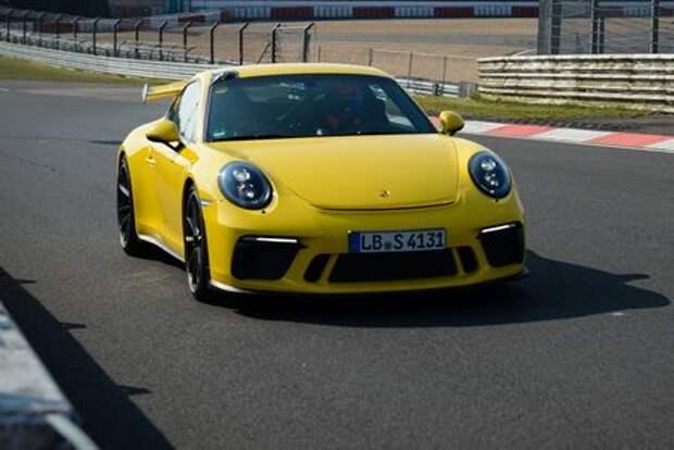 Porsche торжествует: 911 GT3 установил личный рекорд