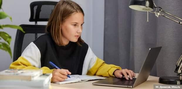 Наталья Сергунина рассказала об онлайн-формате работы детских технопарков в Москве Фото: М. Денисов mos.ru