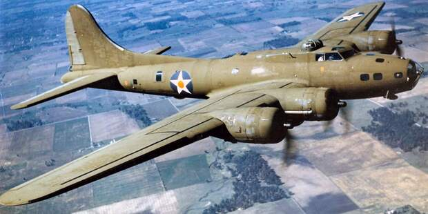 B-17 вполёте