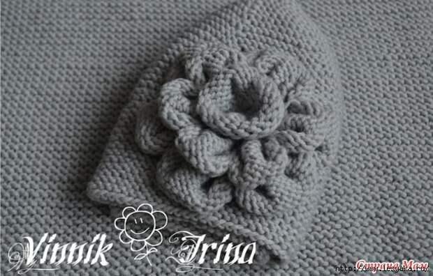 4 теплых зимних комплекта (шапка+снуд) спицами