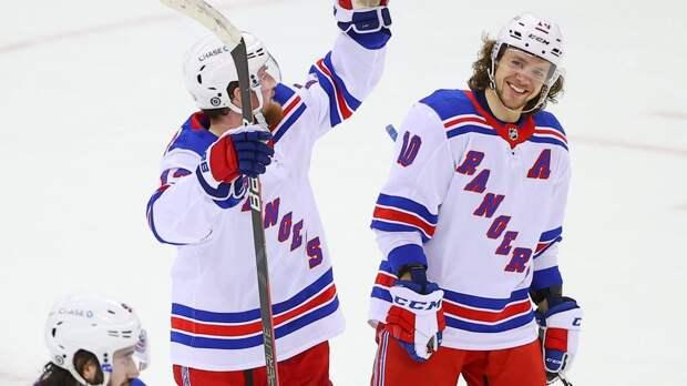 Гол Панарина и хет-трик Бучневича в видеообзоре матча НХЛ «Рейнджерс» — «Нью-Джерси» — 6:3