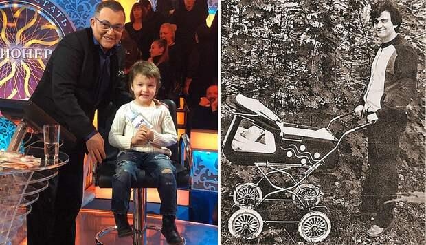 Дмитрий Дибров с детьми