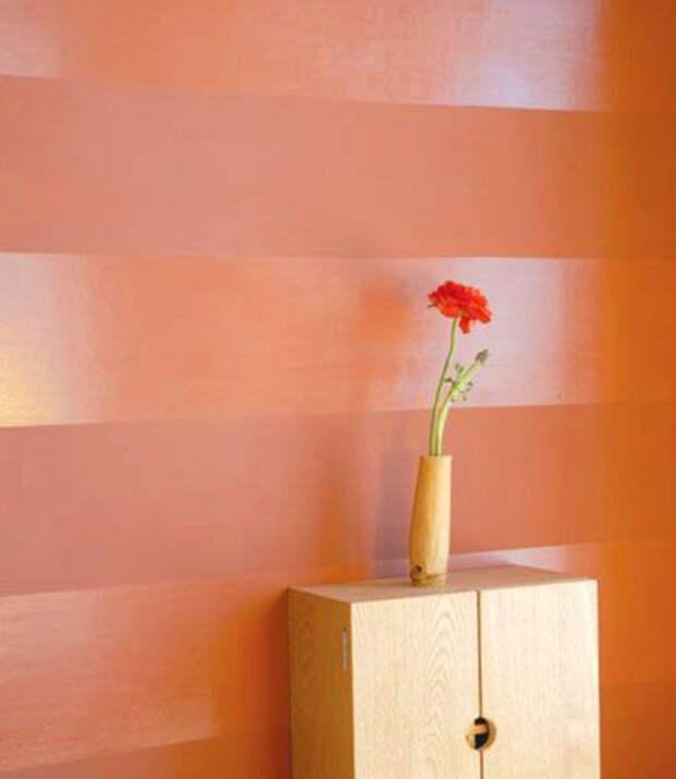 Интересный прием в оформлении дизайна: нескучный полосатый интерьер