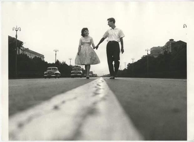 Ленинградский проспект. Владимир Лагранж, 1962 г., Москва, из архива МАММ/МДФ.