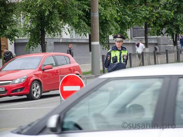 Закрытие движения в центре Ижевска, права нового образца и просчет украинского наркоторговца: что произошло минувшей ночью