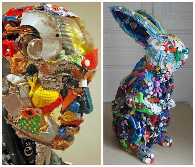 Из мусора интересное, искусство, креатив, творчество