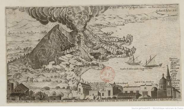 О гигантах в небе и извержении Везувия от римлянина греческого произхождения