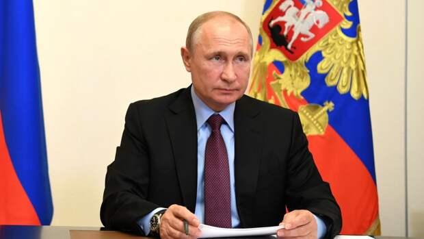 Путин заявил о необходимости помочь регионам РФ в развитии самодостаточности