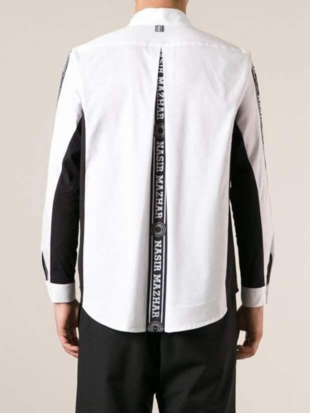 Спинка мужской рубашки