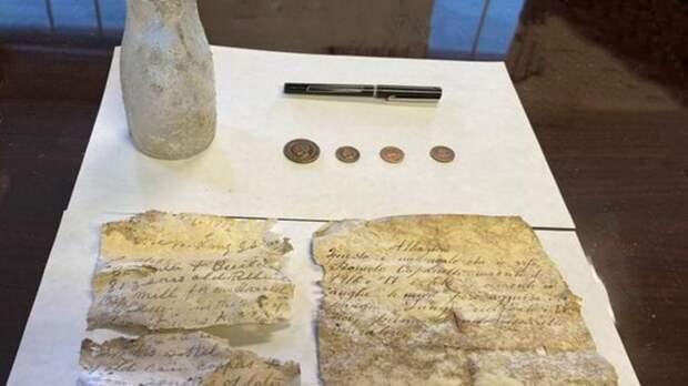 Капсулу времени из прошлого века нашли под знаменитым домом в США