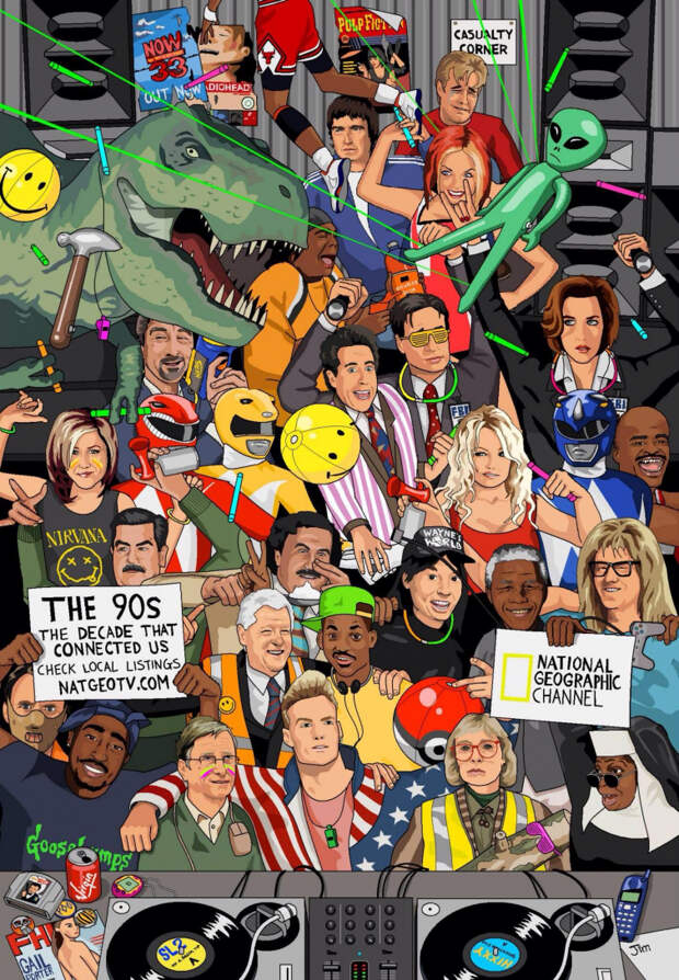 90-е в трёх картинках, 90-е картинка, 90-е фото, 90-е в картинках