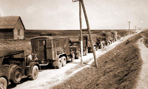 Немецкое наступление развивалось вдоль крупных магистралей, защите которых советское командование должно было уделить повышенное внимание - Нестандартное 22 июня   Warspot.ru