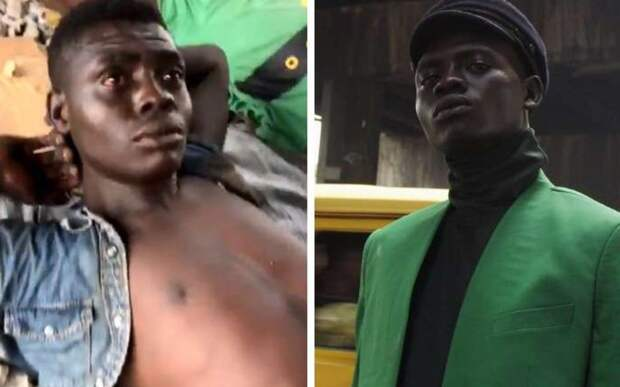 С улицы на обложку журнала: бездомный из Нигерии стал моделью