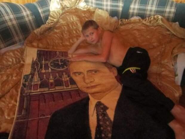 Непонятная любовь русских к коврам (23 фото)