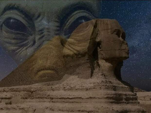 Тайный «Зал Знаний» под лапой Сфинкса и фараоны с других планет