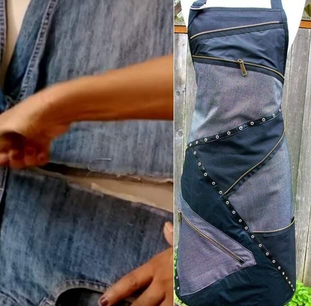 что можно сделать из джинс своими руками