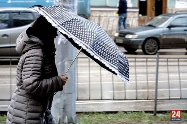 В Крыму ожидается мокрый снег