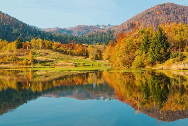Осенние пейзажи возле городка Мрзла Водица