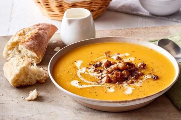 Красочный овощной супчик. \ Фото: taste.com.au.