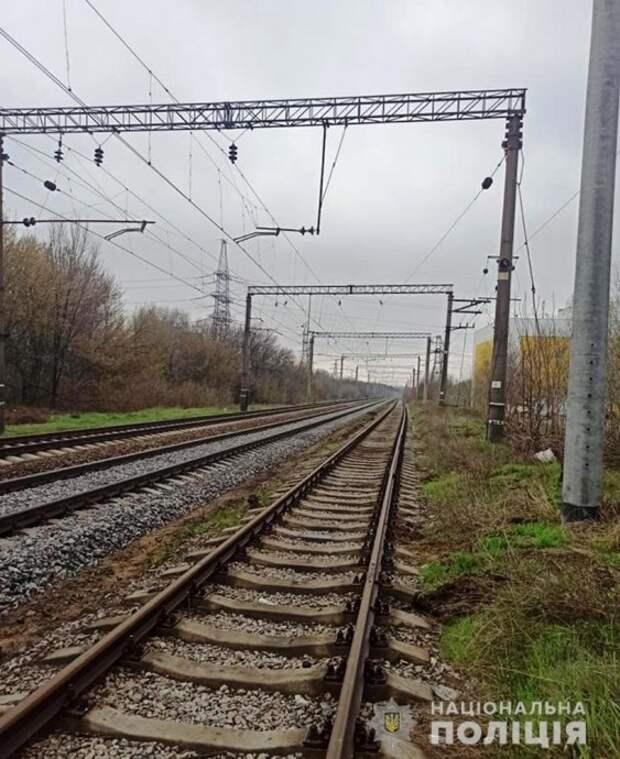 На Запорожье мужчину сбил поезд