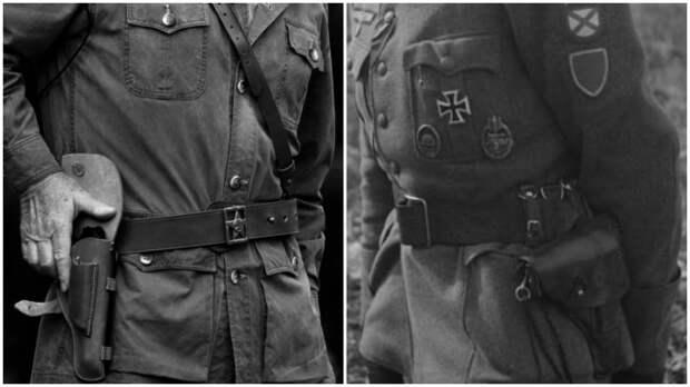 Почему Немецы носили пистолет на левой стороне , а Русские - на правой