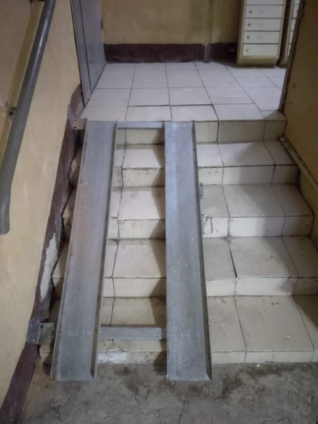 В доме на Петровско-Разумовском установили пандусы после капремонта