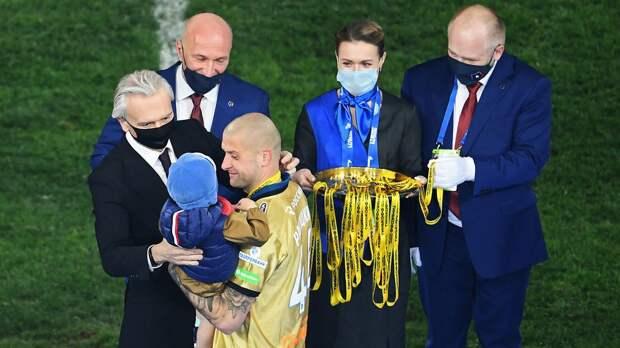 Украинский футболист «Зенита» Ракицкий выиграл 11-й титул чемпиона страны за 11 лет