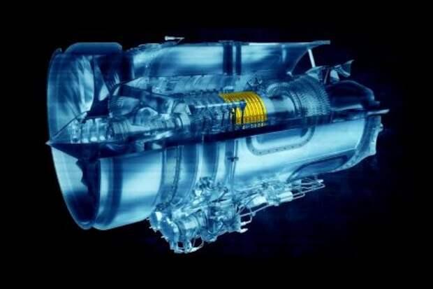Кольцевые статоры Rolls-Royce на схеме
