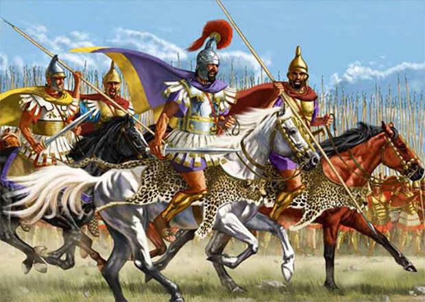 Дж. Шумейт. Македонская армия