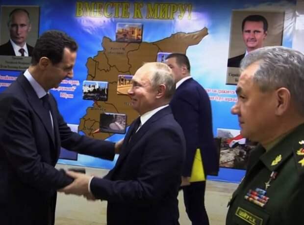 За рубежом заявили о «противоречиях» между Россией и Сирией