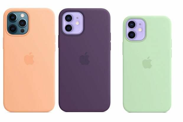 Apple выпустила новые чехлы для iPhone 12/12 Pro и Phone 12 mini