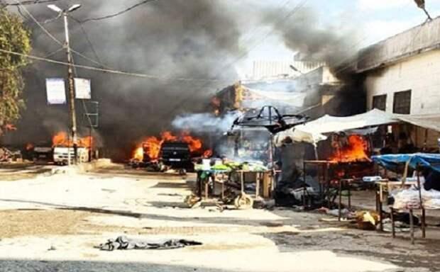 Из-за взрыва вСирии погибли 40 человек, включая 11 детей— Турция