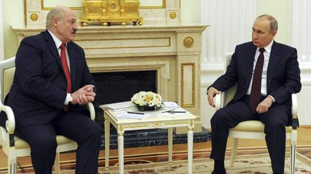 Переговоры Путина и Лукашенко, продолжавшиеся четыре часа, завершились