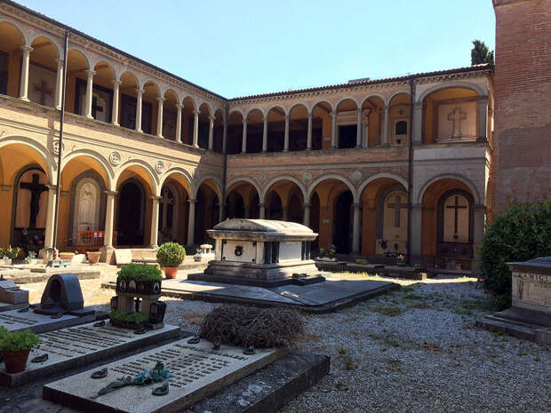 Монументальное кладбище Чертоза вБолонье