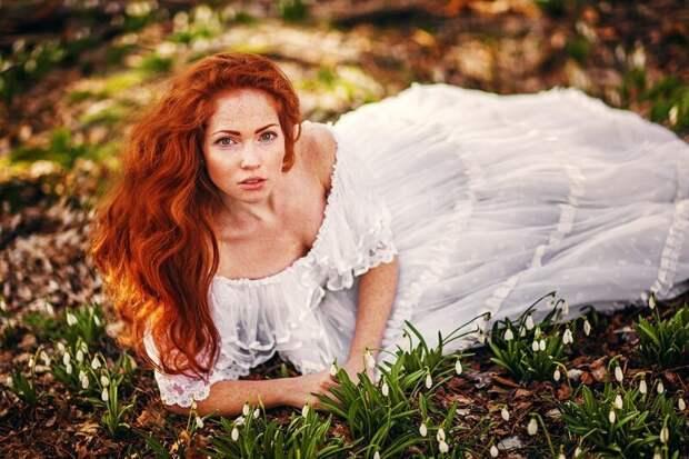 1. Инквизиция, девушка, костер, красота, рыжая, рыжие волосы