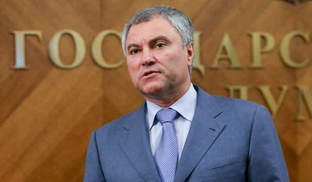 Володин рассказал о преимуществах единой цифровой платформы занятости
