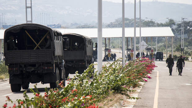 Мадуро показал характер: на границе Колумбии и Венесуэлы разбиты военные подразделения
