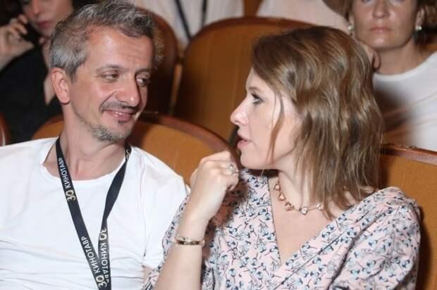 Ксения Собчак и Константин Богомолов. / Фото: www.mk.ru