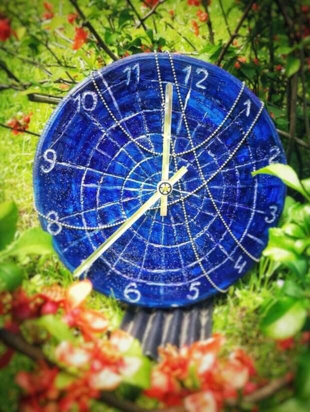 Марина Сорокина из Бескудникова делает необычные часы