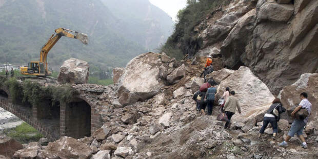 В Китае пострадали девять человек из-за землетрясения