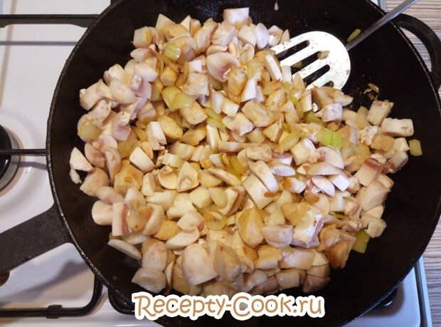 курица с грибами рецепт с фото