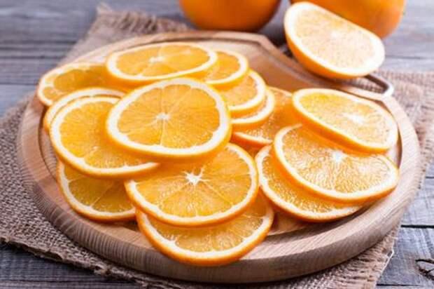 Сушеные апельсины: вкусное угощение и красивая идея для декора. Этап: 2