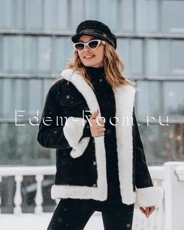 Модные зимние джинсовые куртки на меху: Стильно, красиво и тепло