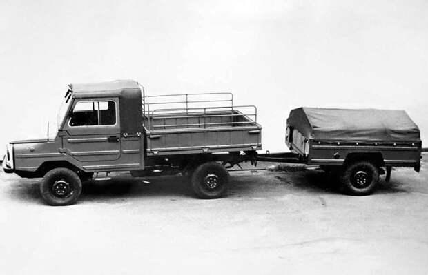 В лёгком весе. Грузовой автомобиль ЛуАЗ-13021 ЛуАЗ-13021, автомобиль, грузовой