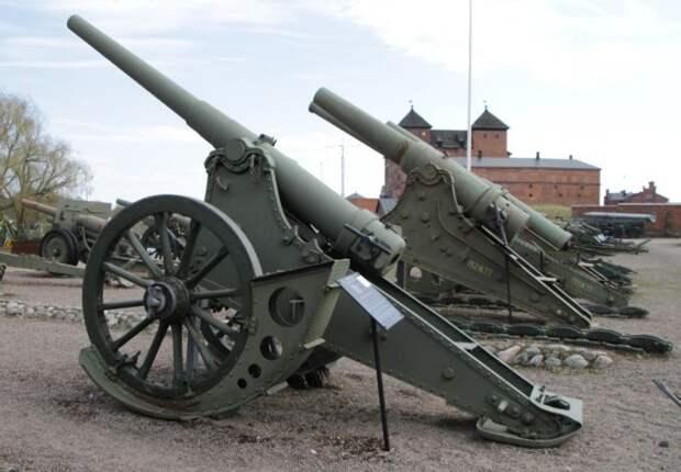 Во время битвы за Москву Красная армия использовала старинные царские пушки