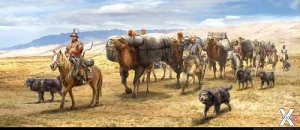 Главный элемент государства монгол - ...